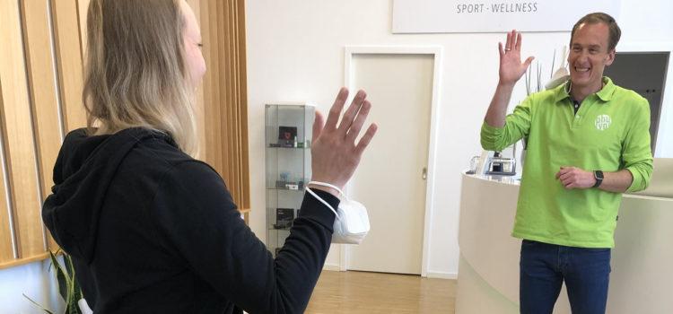 Neue Physiotherapeutin Svenja Smotzek