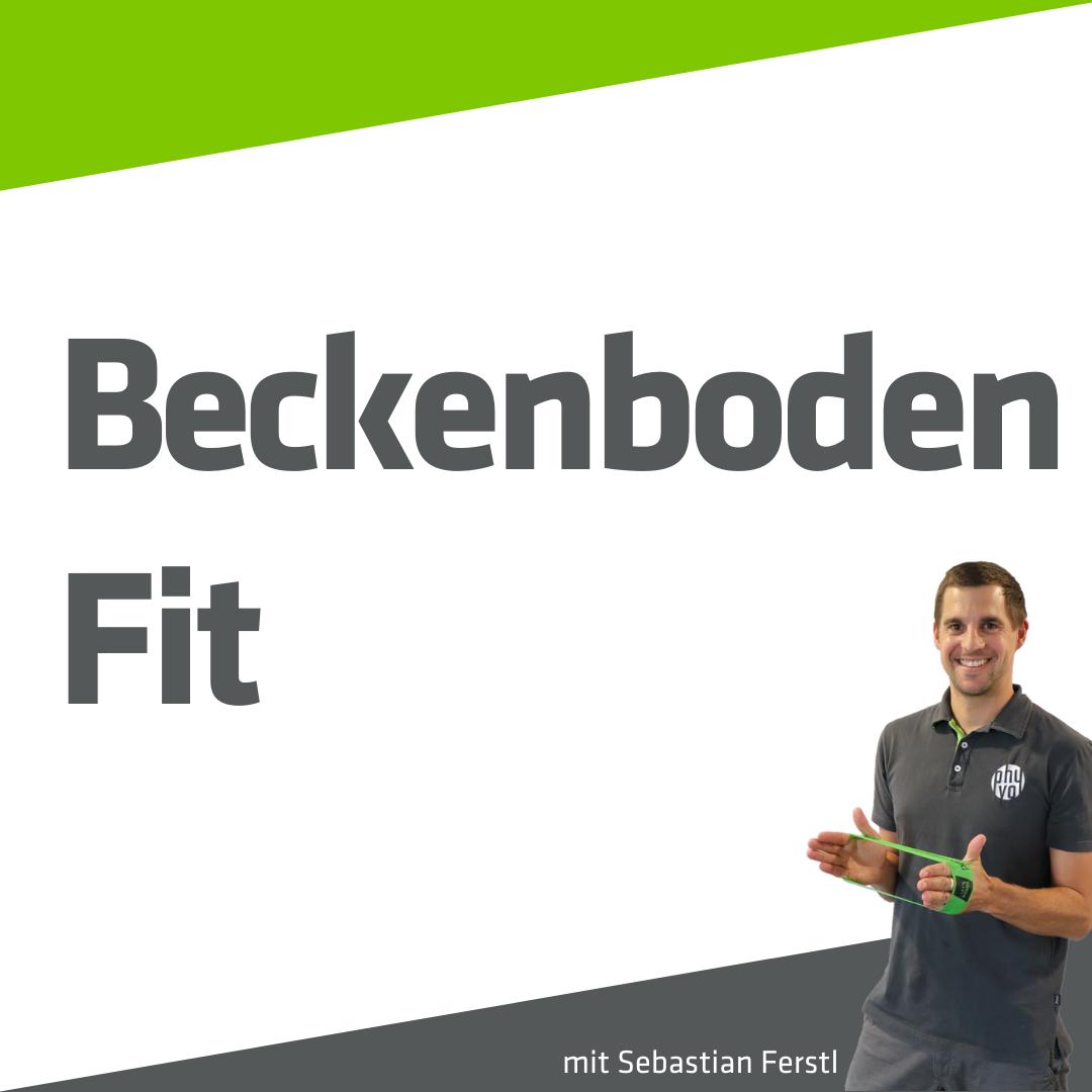 Beckenboden-Trainer Sebastian Ferstl
