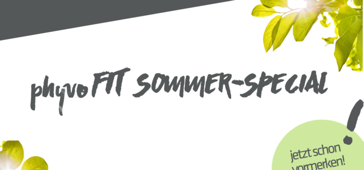 phyvoFIT Sommer-Special